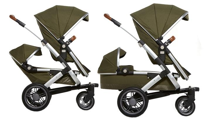 Joolz Geo Duo kolekcja Earth zestaw dla rodzieństwa rama, dolna gondola + 2 spacerówki + fotelik 0-13 Besafe Modular Joolz
