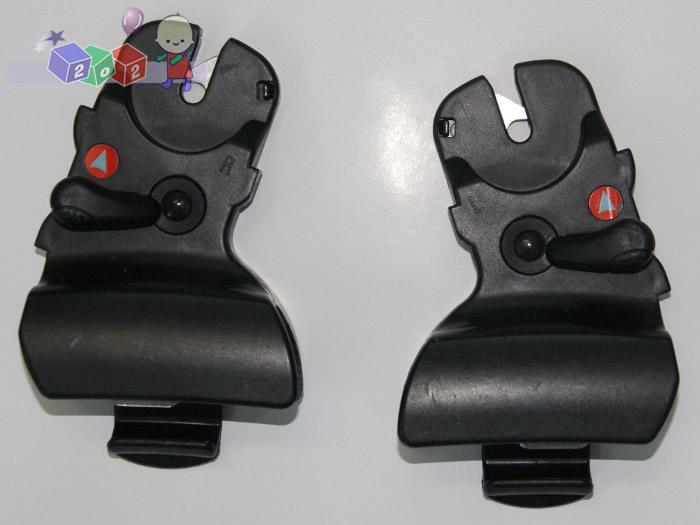 Adapter do montażu fotelików na ramach wózków Nurse