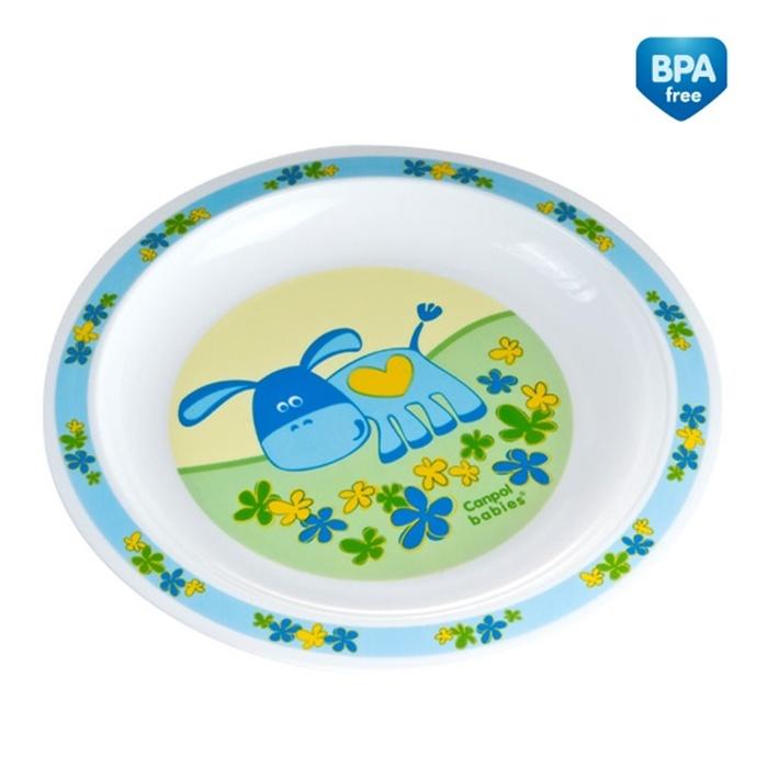 Naczynia plastikowe Canpol Babies - talerzyk 0% BPA