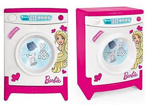 Duża pralka z dźwiękiem i otwieranym bębnem Barbie, Wader