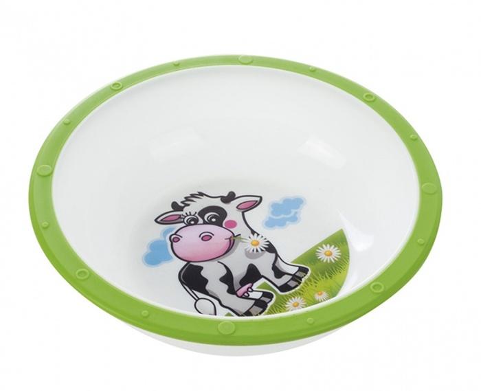 Praktyczna miseczka z antypoślizgowym spodem do dziecięcych posiłków Canpol Babies 270 ml