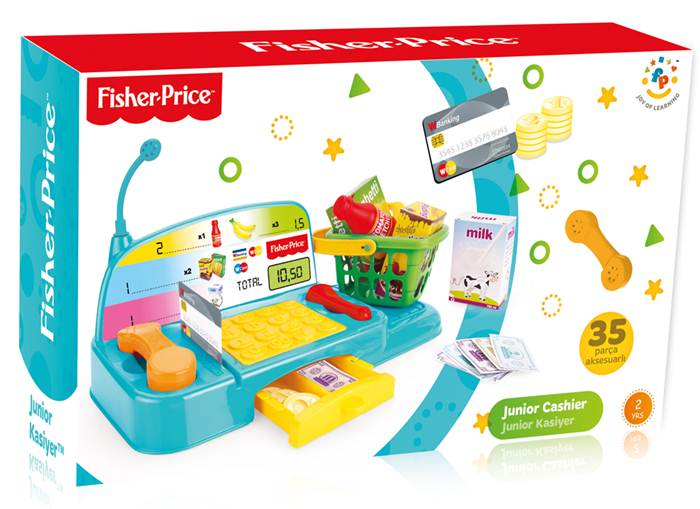 Wader Fisher Price kasa sklepowa junior z akcesoriami