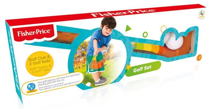 Wader Fisher Price  zestaw do golfa