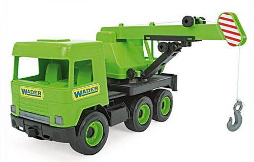 Middle truck dźwig zielony 38 cm - Wader