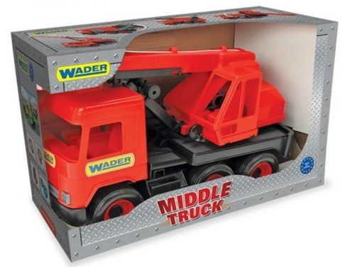 Middle truck – dźwig czerwony - Wader