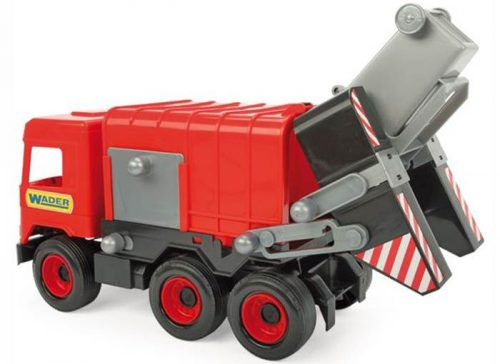 Middle truck – śmieciarka czerwona - Wader