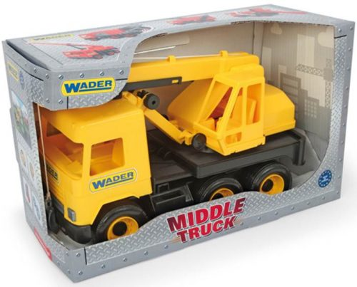 Middle truck – dźwig żółty - Wader