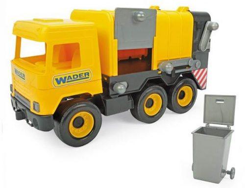 Middle truck – śmieciarka żółta - Wader