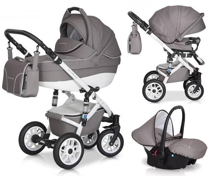 Głęboko spacerowy wózek dziecięcy Expander Essence 3w1 + fotelik samochodowy 0-10 Carlo Expander