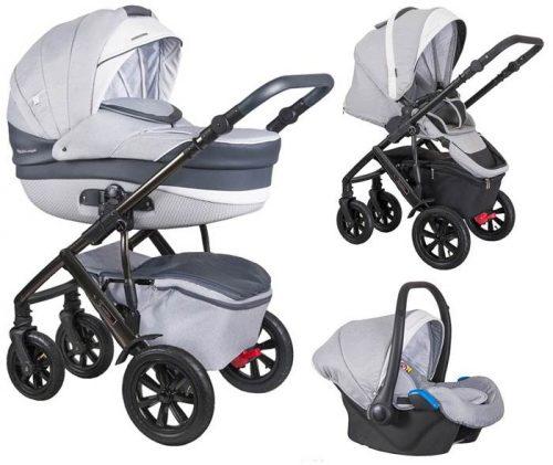 3w1 wózek  Coletto Verona kolekcja Avangard fotelik samochodowy 0-13 kg z możliwością wpięcia na bazę Isofix