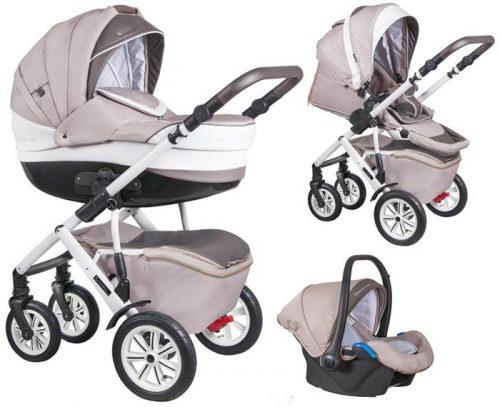 3w1 wózek wielofunkcyjny Verona kolekcja Avangard + fotelik samochodowy 0-13 kg do kompletu, Coletto