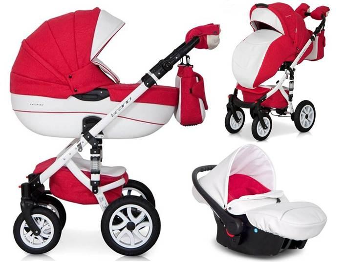 Głęboko spacerowy wózek dziecięcy 3w1 Riko Brano Ecco + fotelik 0-10 kg Carlo