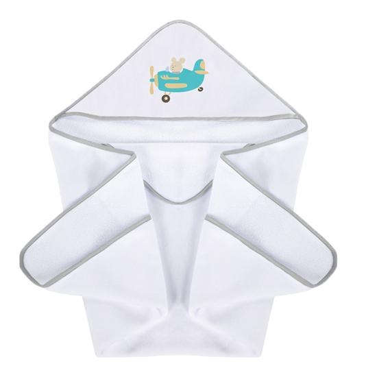 Okrycie kąpielowe 100/100 cm Samolociki Plus Baby