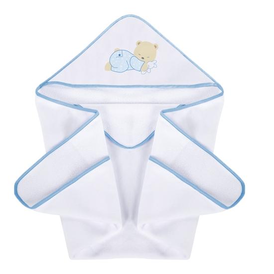 Okrycie kąpielowe 100/100 cm Słodkie sny niebieskiPlus Baby