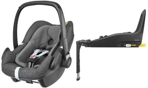 Fotelik samochodowy Pebble Plus i-Size firmy Maxi Cosi - od urodzenia do 75 cm wzrostu + baza 2wayFIX