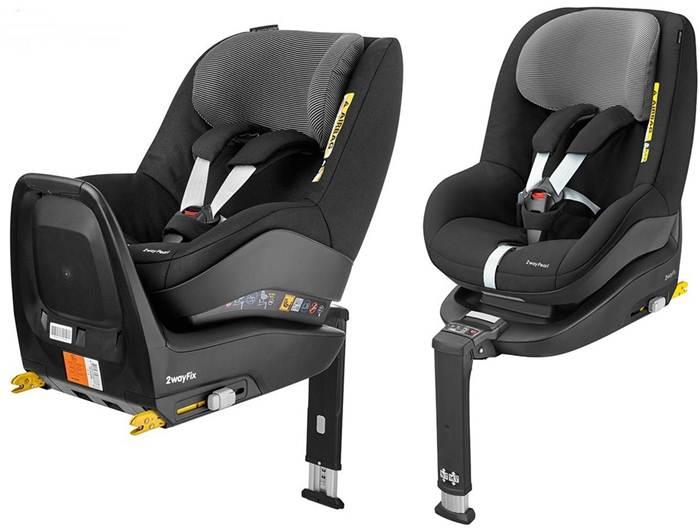 Fotelik samochodowy 0-18 2way Pearl i-size + baza 2wayfix Maxi cosi tyłem lub przodem