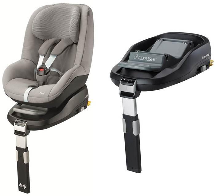 Fotelik samochodowy 9-18 kg Pearl + Baza Family Fix Maxi cosi