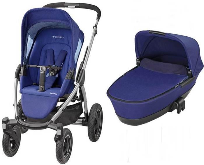 Wózek-głęboko spacerowy Mura 4 Plus firmy Maxi Cosi z gondolą skladaną Foldable