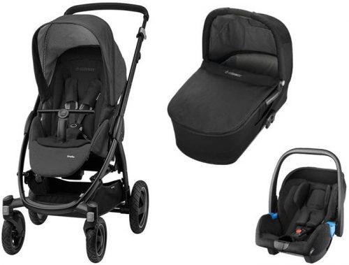 3w1 Wózek głęboko - spacerowy Maxi Cosi Stella z gondolą klasyczną i fotelikiem samochodowym 0-13 kg - wybór