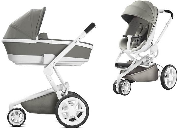 2w1 Nowoczesny trójkołowy wózek-głęboko spacerowy Moodd, firmy Quinny