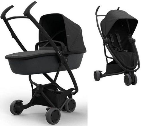Wózek trzykołowy 2w1 głęboko-spacerowy Zapp Flex, Quinny