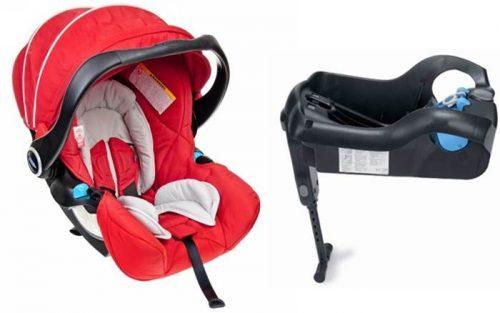 Bardzo bezpieczny fotelik samochodowy Graco Logico S HP 0-13 kg (ADAC ****) + baza do fotelika montowana za pomoca pasów