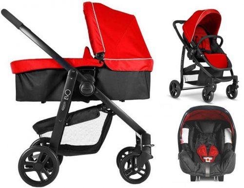 3w1 Praktyczny i funkcjonalny wózek głęboko spacerowy Evo Graco+ fotelik 0-13 kg Junior Baby