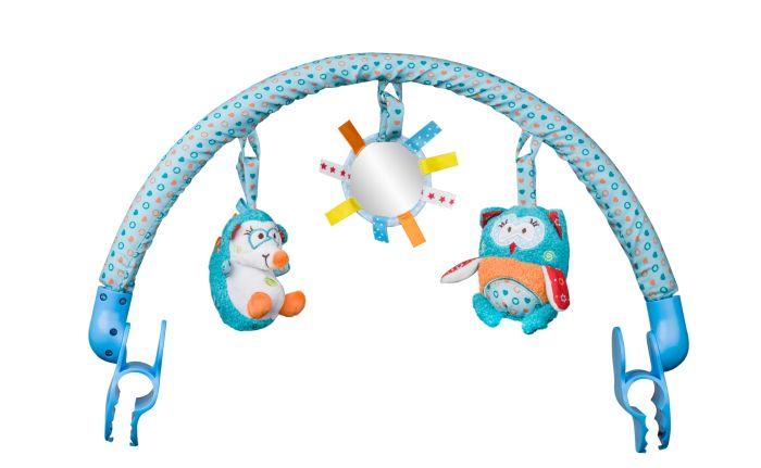 BabyOno Pałąk do wózka Charlie & Hannah 0m+