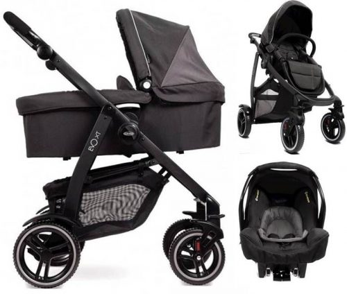 Wózek głęboko spacerowy 3w1 Graco Evo XT z fotelikiem 0-13 kg Junior Baby