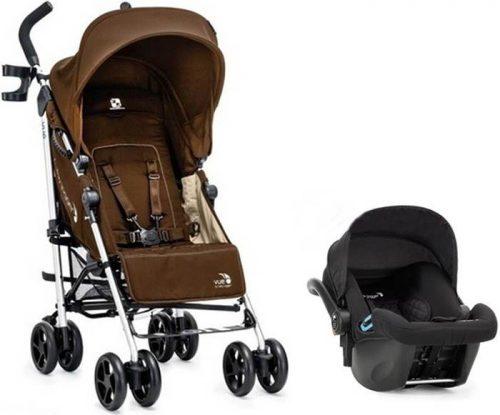 Wózek spacerowy Vue do 25 kg z przekladanym siedziskiem + fotelik samochodowy City Go Baby Jogger