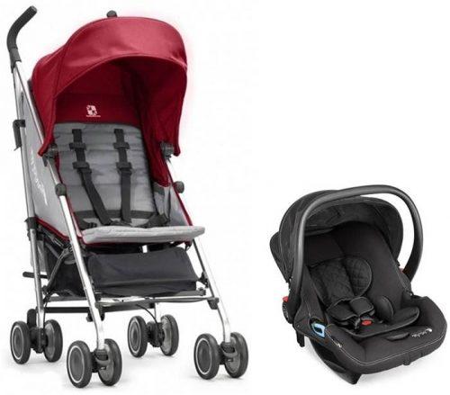 Baby Jogger Vue Lite - parasolka z przekładanym siedziskiem i fotelikiem samochodowym 0-13 kg City Go