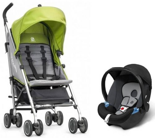 Baby Jogger Vue Lite - parasolka z bezpiecznym fotelikiem samochodowym 0-13 kg Maxi Cosi, Cybex, Kiddy, Recaro do wyboru