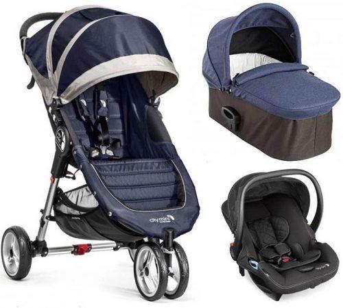 3w1 wózek głęboko spacerowy City Mini 3 Baby Jogger + gondola Deluxe+ fotelik City Go