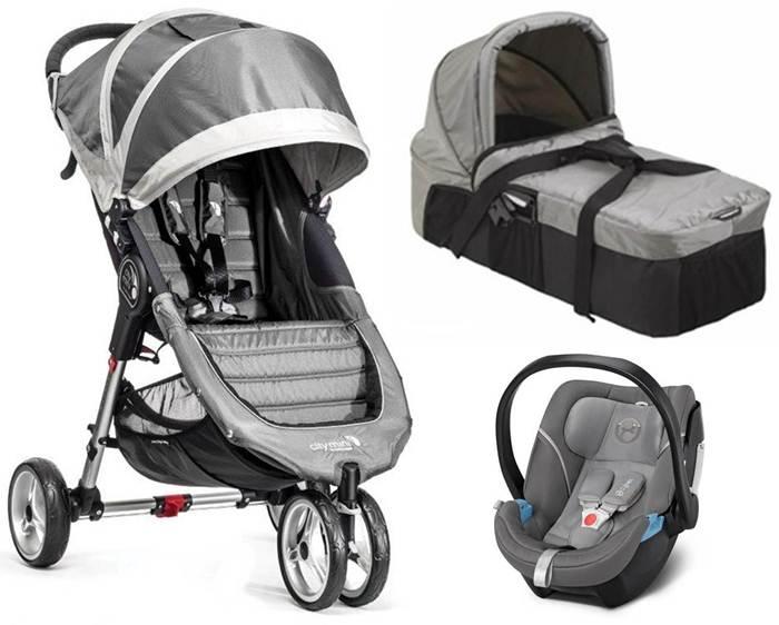 3w1 wózek spacerowy City Mini 3 Baby Jogger + gondola kompaktowa + bezpieczny fotel z testami ADAC do wyboru