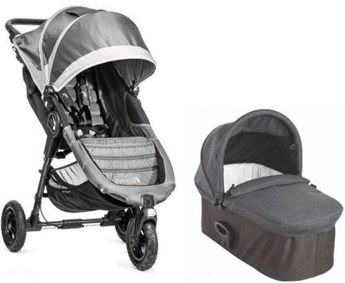 2w1 wózek uniwersalny City Mini GT + gondola Deluxe Baby Jogger