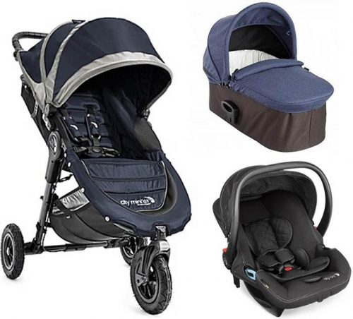 3w1 wózek wielofunkcyjny City Mini GT + gondola Deluxe +fotelik 0-13 City Go, Baby Jogger