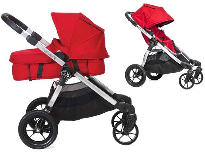 Głęboko spacerowy wózek City Select Baby Jogger + gondola Basinet