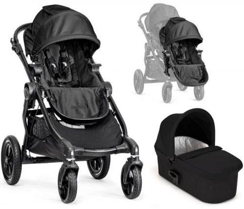 Wózek dla rodzieństwa City Select Baby Jogger z dodatkowym siedziskiem + gondola deluxe