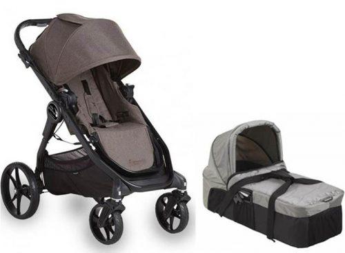Wózek głęboko spacerowy 2w1  City Premier + gondola kompaktowa Baby Jogger