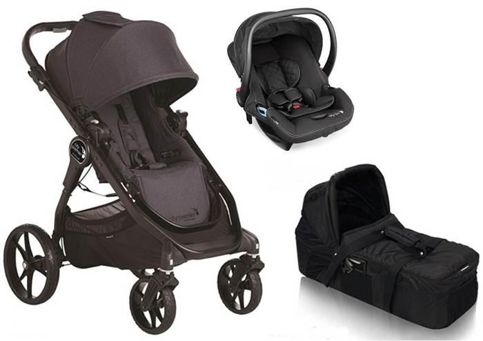 3w1 wózek głęboko spacerowy City Premier + gondola kompaktowa + fotelik City Go Baby Jogger