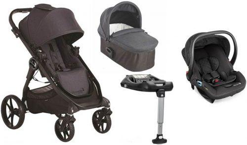 4w1 City Premier + gondola Deluxe+ fotelik 0-13 kg + baza isofix wózek wielofunkcyjny City Go Baby Jogger
