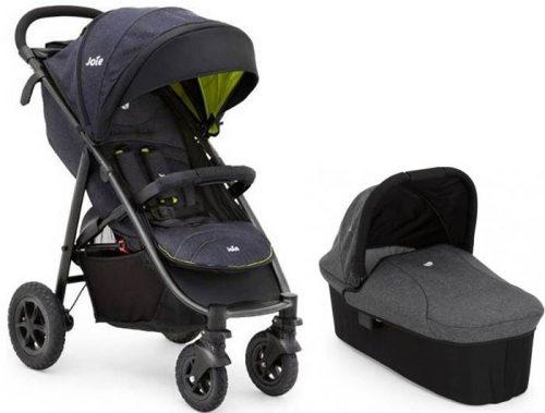 2w1 wózek dziecięcy Joie Litetrax 4 Air z kołami pompowanymi + gondola