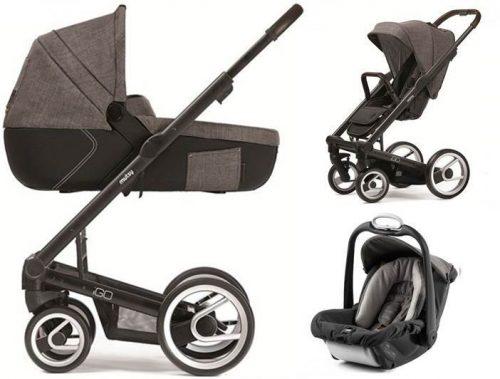 Wózek 3w1 głęboko spacerowy Igo Mutsy z fotelikiem samochodowym Safe2Go 0-13 kg