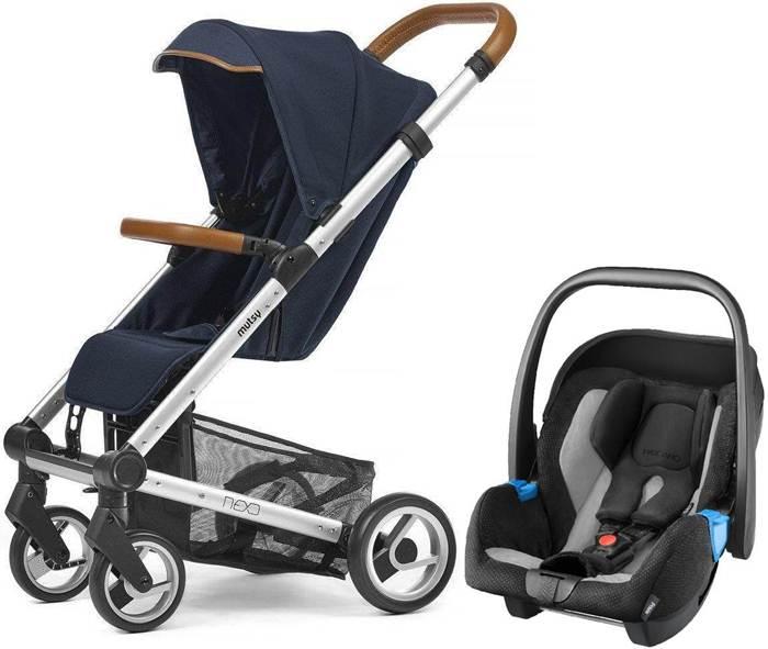 Wózek spacerowy Mutsy Nexo z fotelikiem samochodowy 0-13 kg