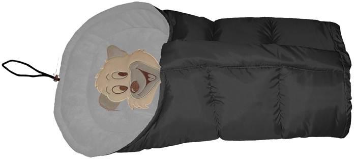 Polarowy śpiworek do wózka dopinany 90 lub 110  cm