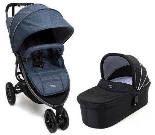 2w1 Wózek głęboko spacerowy Snap 3 VS Sport, pompowane koła Valco Baby