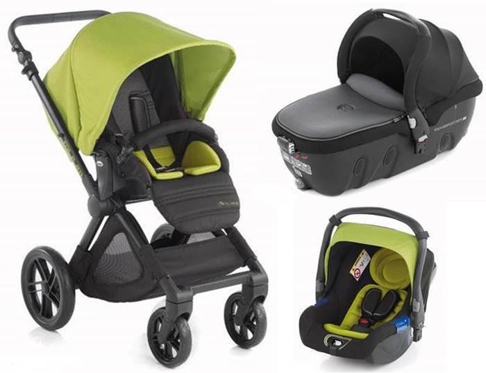 3w1 głęboko spacerowy wózek  Muum firmy Jane z godnolą Transporter fotelikiem Koos 0-13 kg