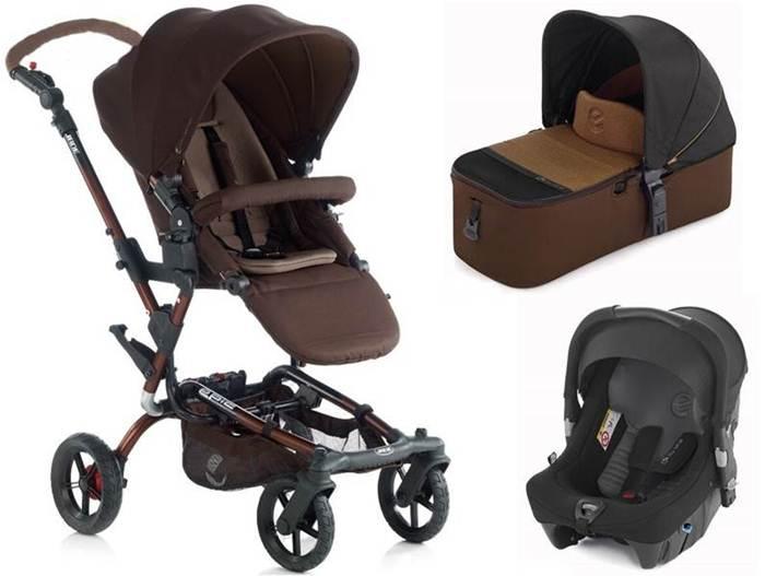 Wózek 3w1 wielofunkcyjny Epic, Jane z gondola Micro i fotelikiem Strata 0-13 kg