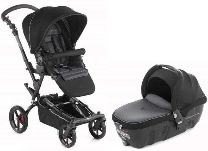 Wózek 2w1 wielofunkcyjny Epic, Jane z gondolą Transporter - opcja przewożenia dziecka na leżąco