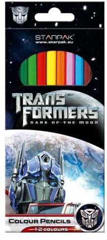 Kredki 12 kolorów Transformers Starpack